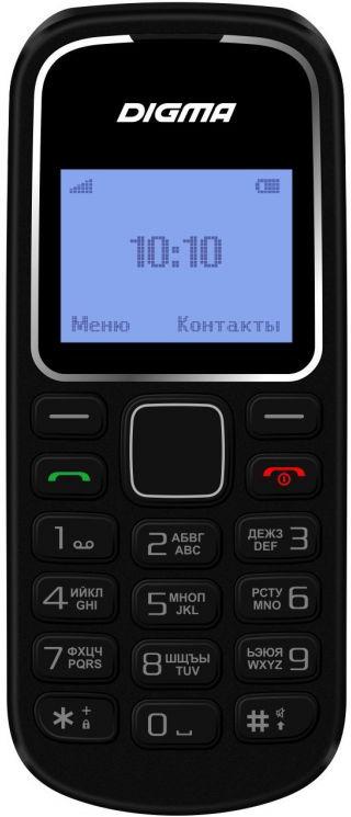 Мобильный телефон Digma Linx A105 2G, черный мобильный телефон digma linx a242 2g черный фиолетовый