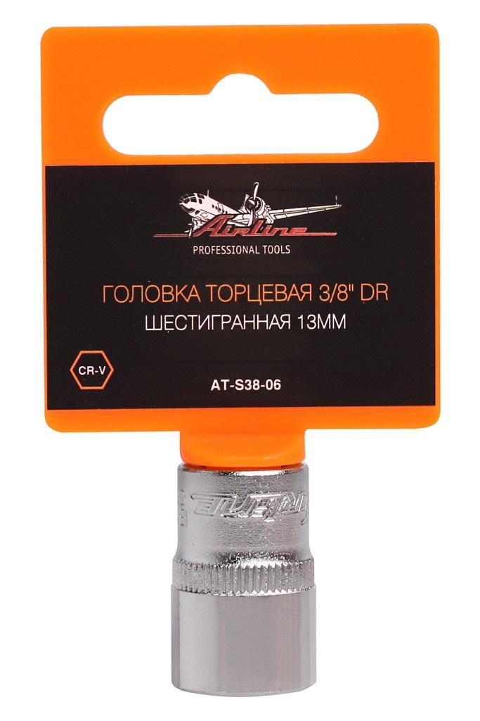 Головка торцевая Airline, AT-S38-06 защитная плёнка для huawei honor 3 антибликовая luxcase