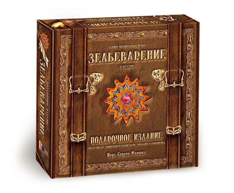 Настольная игра Правильные игры Зельеварение подарочное издание, 05-01-05