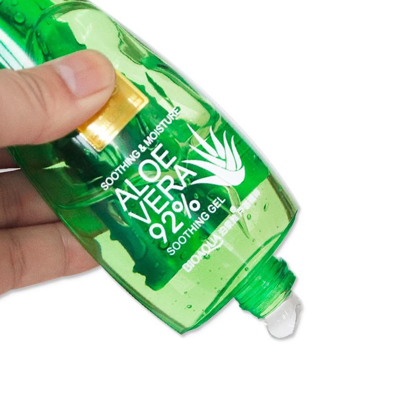 BIOAQUAУвлажняющий гель с натуральным соком ALOE VERA для лица и тела, 160 мл.  Bioaqua