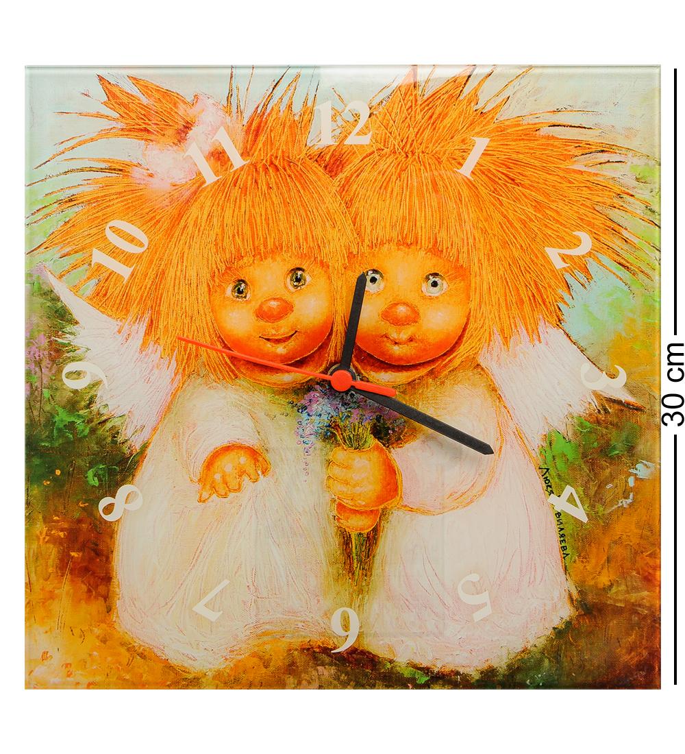 Часы настенные Artangels ANG-296 Влюбленные, 501950, 30х30 см501950ANG-296 Часы ''Влюбленные'' 30х30