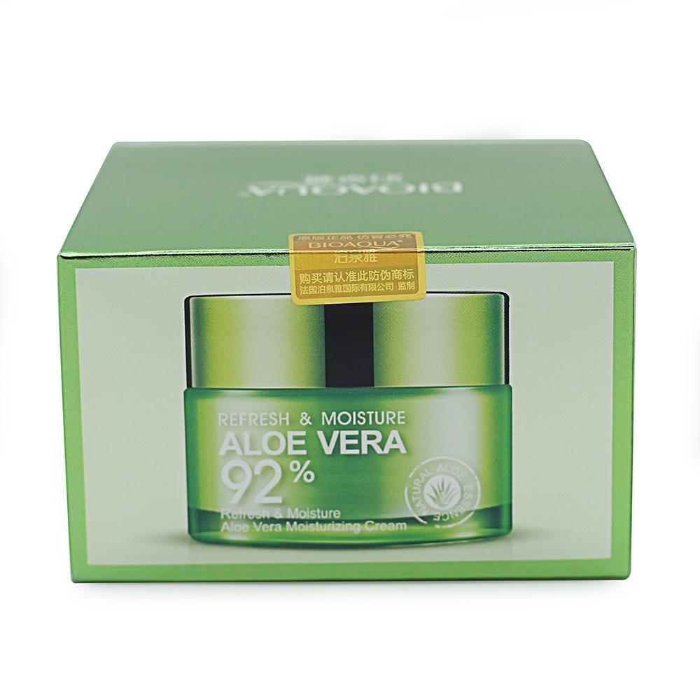 Крем для ухода за кожей BIOAQUA освежающий и увлажняющий кремгель для лица с АЛОЭ ВЕРА 92 50 гр