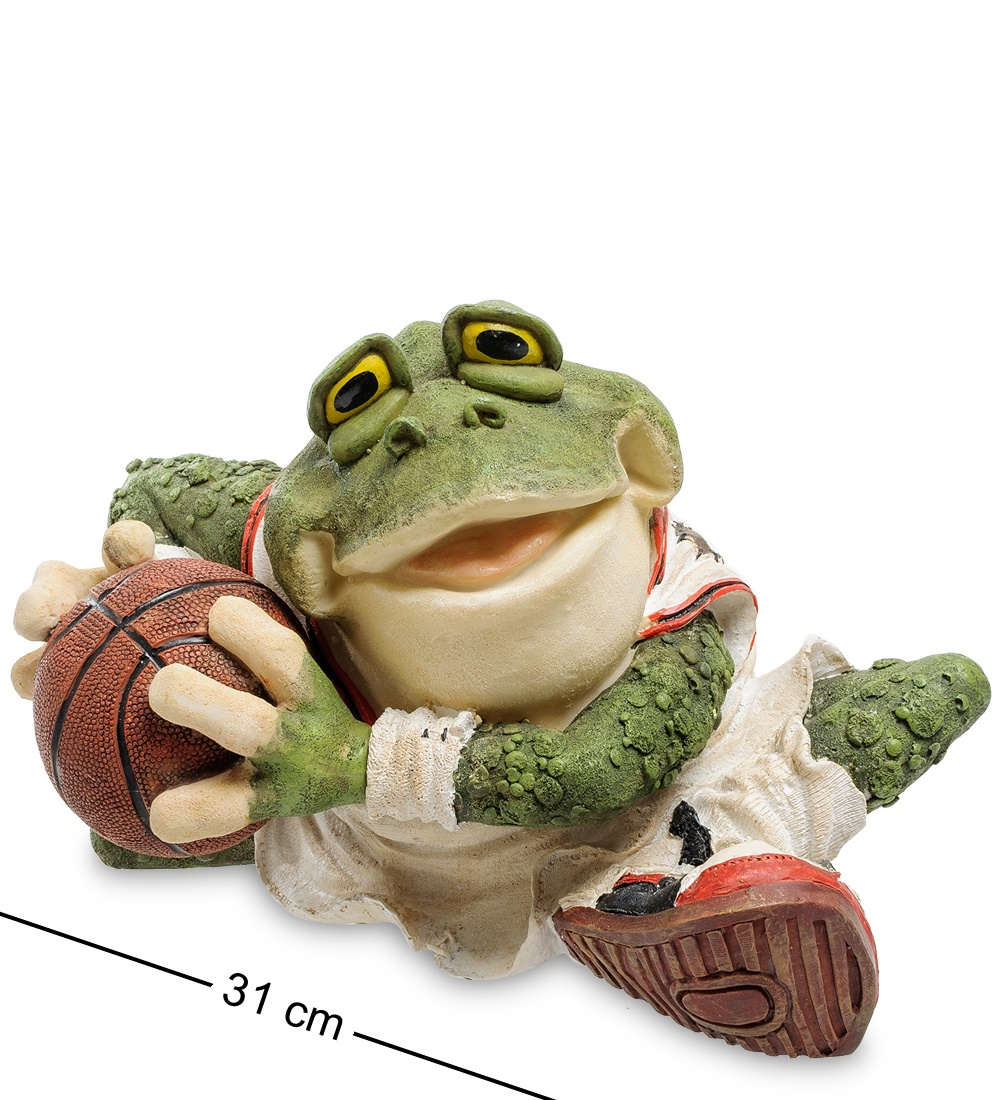 Фото - Копилка Sealmark Лягушка ''Баскетболист'' 902875, зеленый копилка sealmark мое солнышко 90353