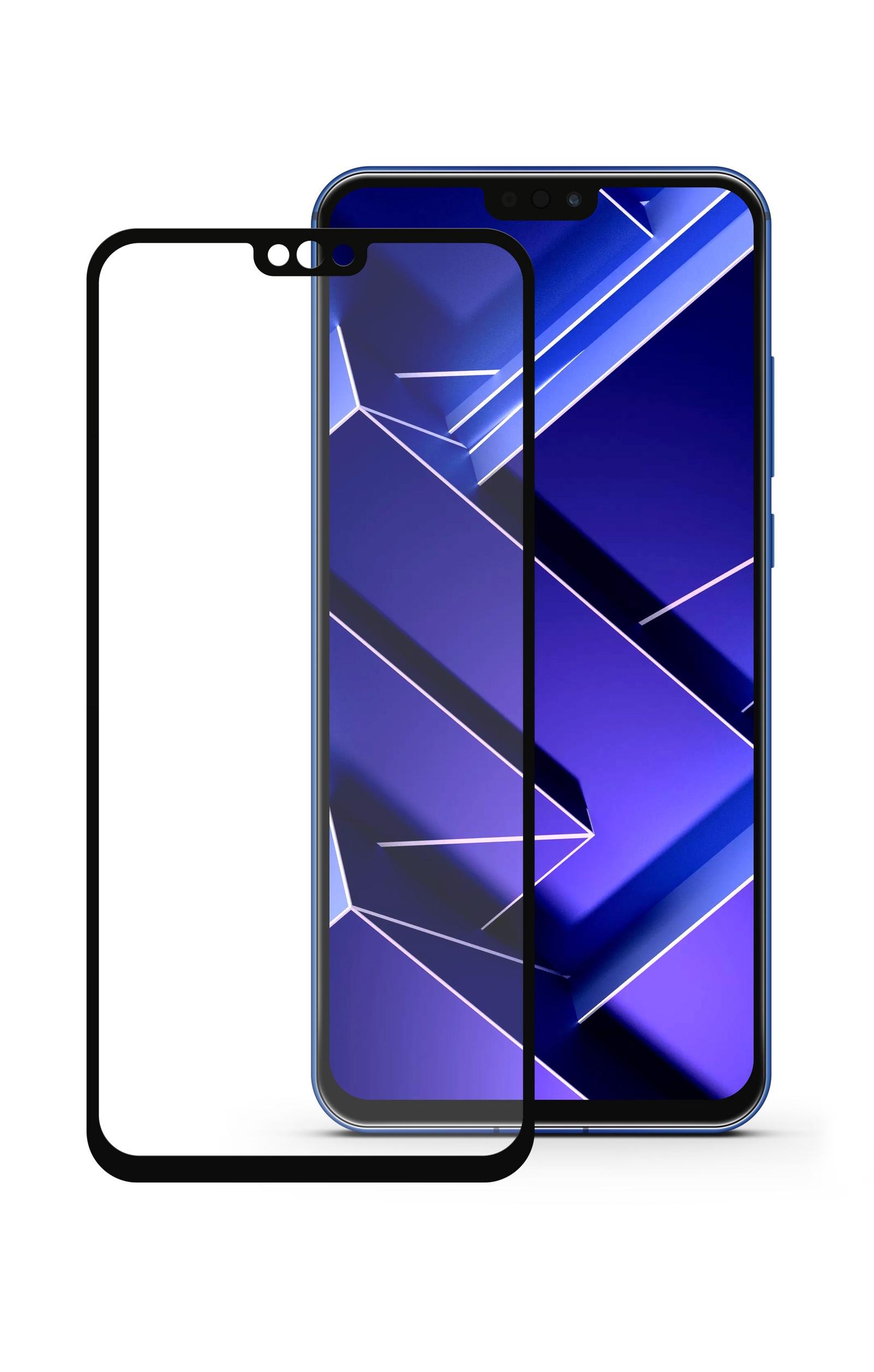 Защитное стекло Mobius Huawei Honor 8X, черный защитное стекло mobius huawei honor 8x max черный