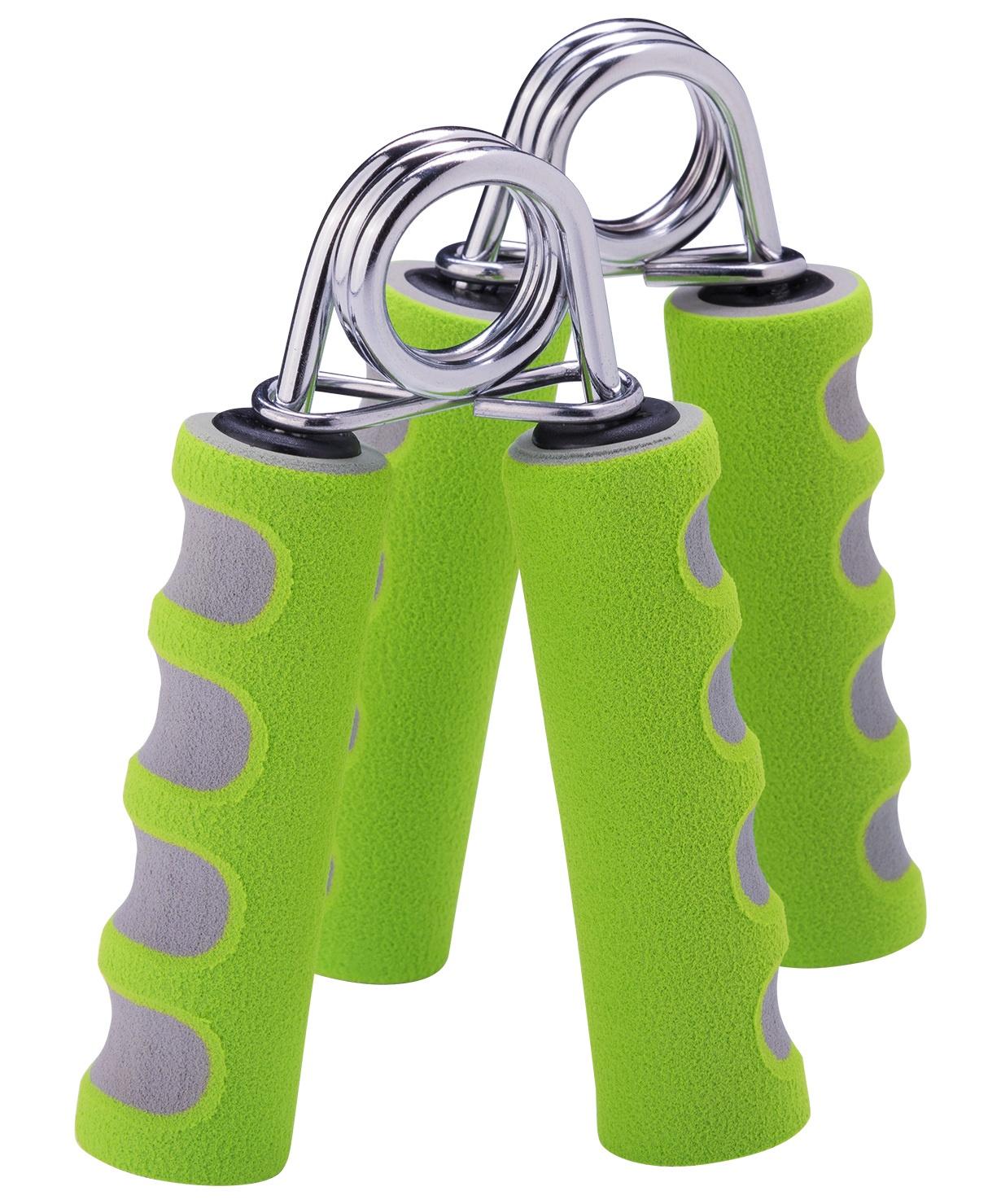 Эспандер кистевой пружинный Starfit ES-304, УТ-00007335, серый, зеленый цена