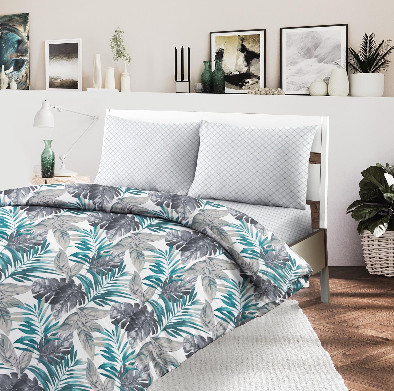 цена на Комплект постельного белья Seta Azalea Trianon, 019012339, серый, белый, 1.5 спальный
