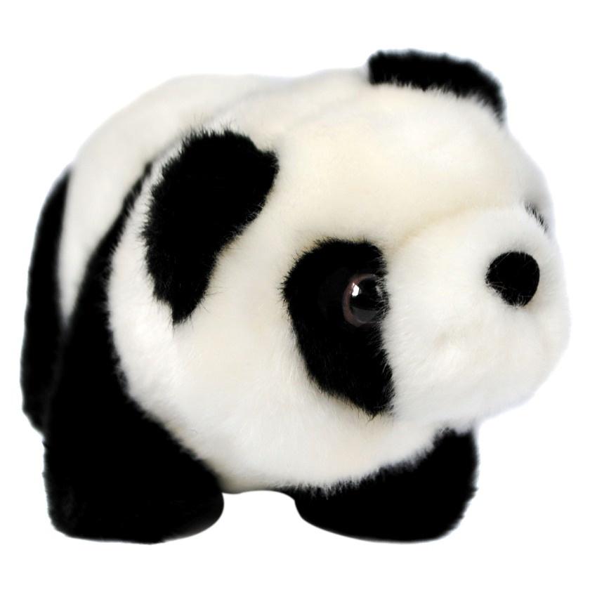 АБВГДЕЙКА Мягкая игрушка Панда, 18 см
