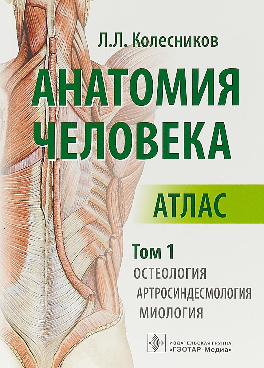 Л. Л. Колесников Анатомия человека. Атлас. Том 1. Остеология, артросиндесмология, миология