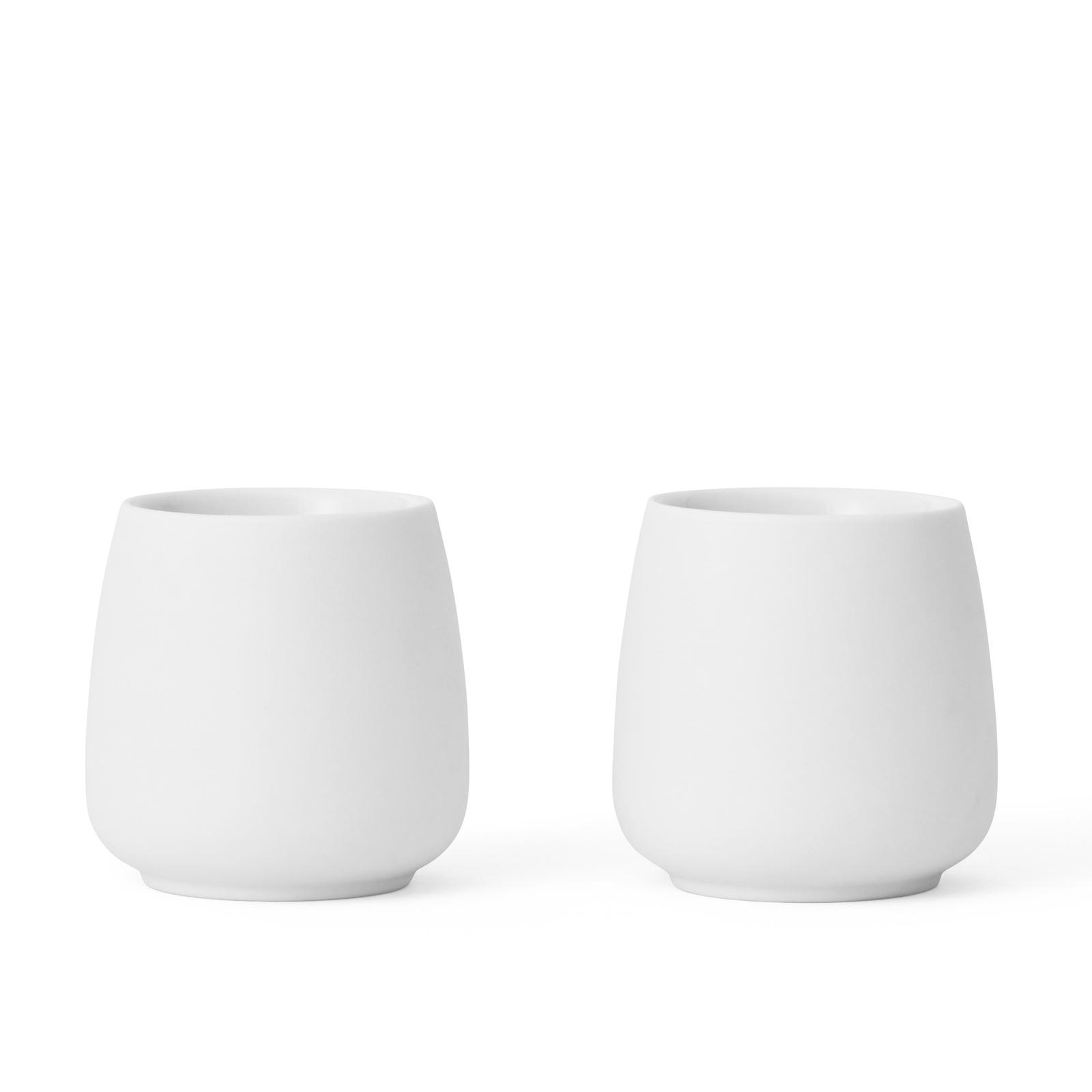 Чайный стакан Viva scandinavia Nicola, V35802, белый, 0,08 л, 2 шт