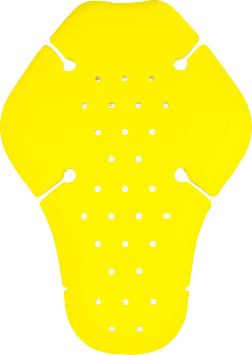 Защита спины Starks Knox MicroLock Part 65 Velcro, вставка, цвет: желтый