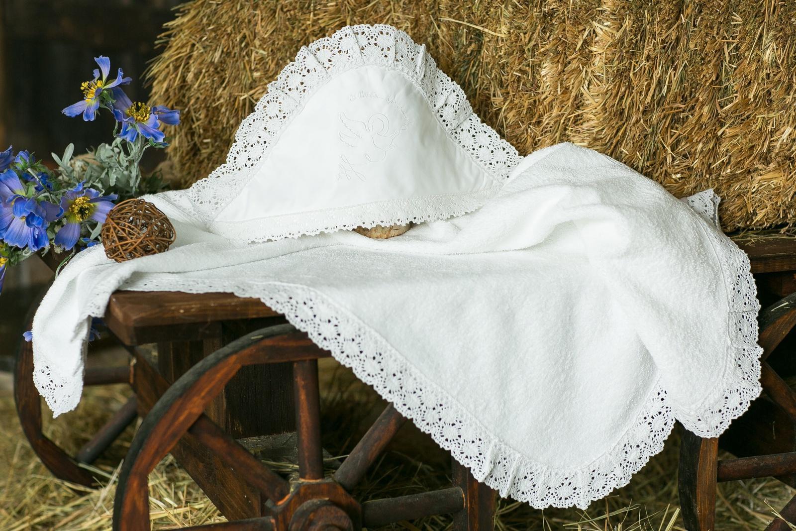 Крестильная пеленка Alivia Kids, 1281410100, белый, 100 х 100 см для крещения пеленка
