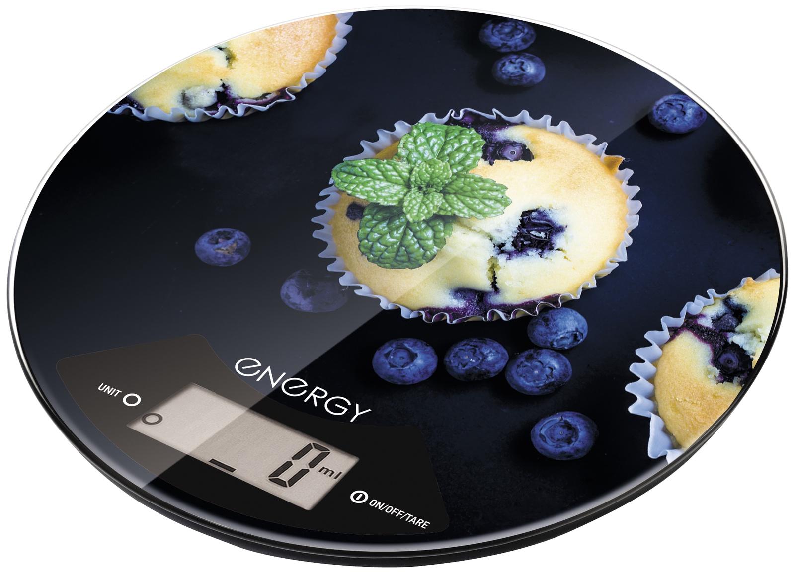 цена на Весы кухонные Energy Кексы, EN-403 электронные, круглые