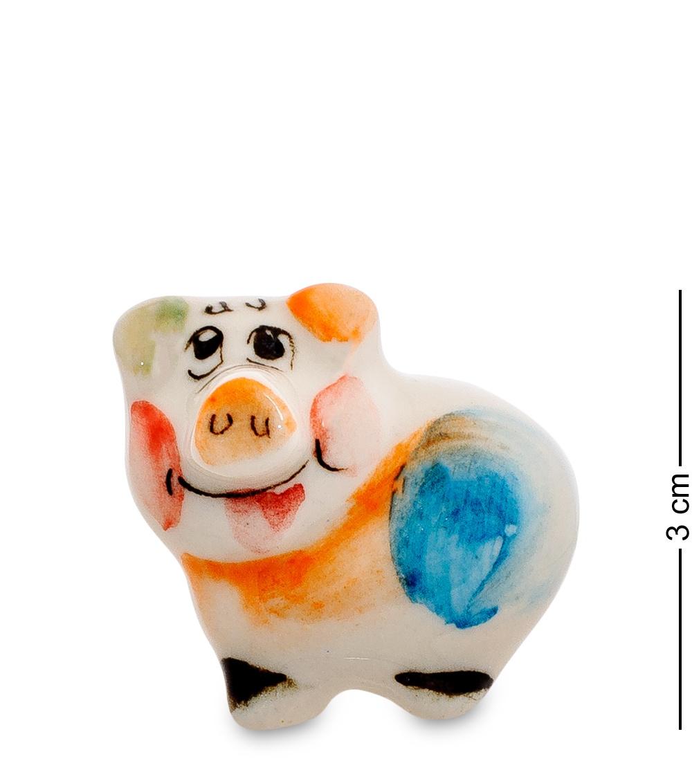 цена на Фигурка Гжельский Фарфор ''Свинка'', 706201