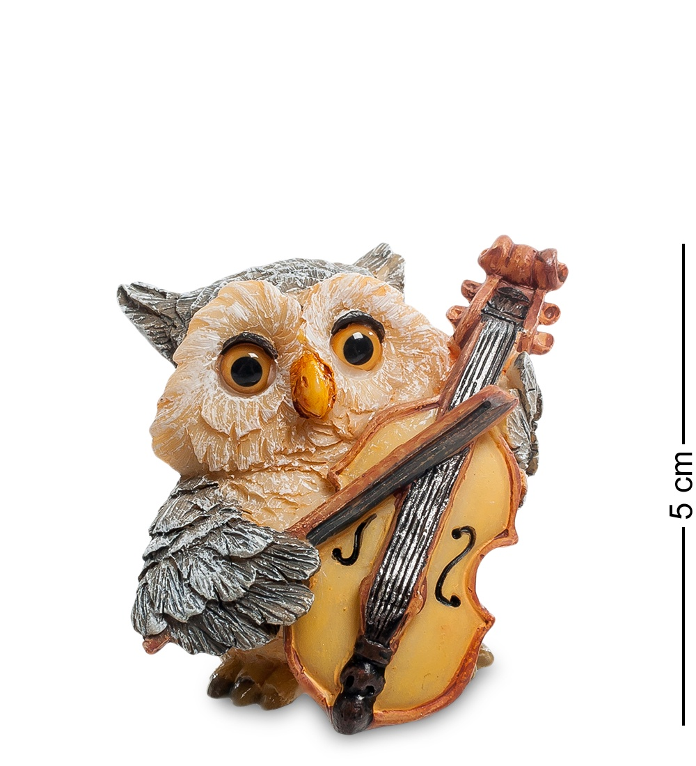 "Фигура Sealmark ""Сова - виолончелист"", 90325"
