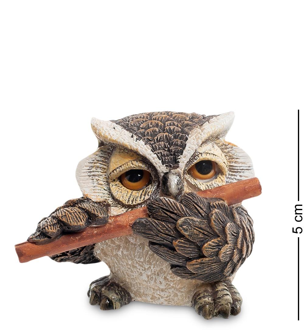"Фигура маленькая Sealmark ""Сова ''Флейтист'' 901393, коричневый"