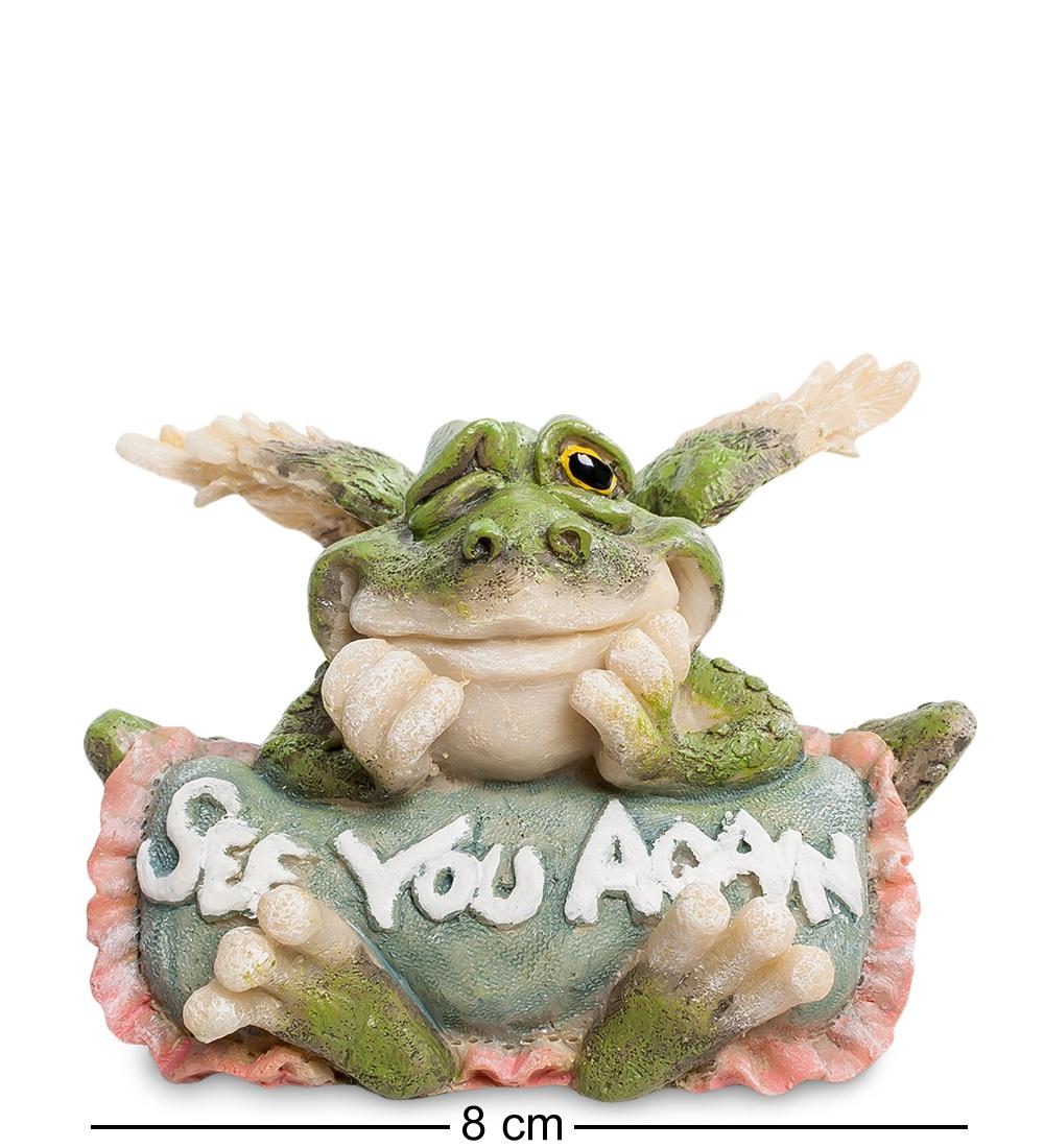 "Фигура Sealmark ""Лягушка ''Еще увидимся!'' 90101, зеленый"