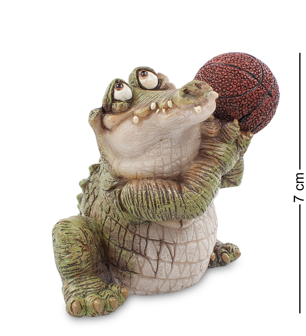 "Фигура Sealmark ""Крокодил - баскетболист', 90232"