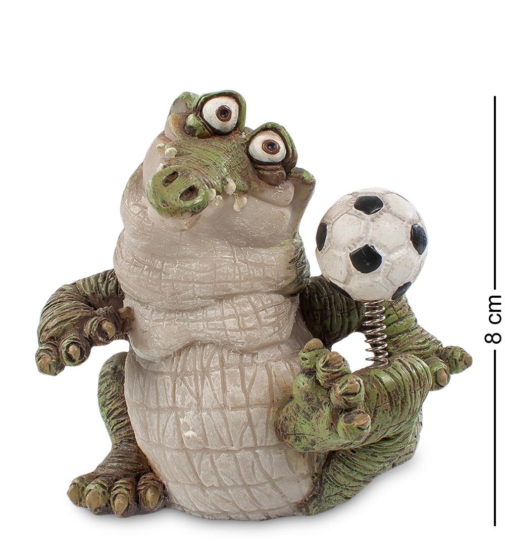 """Фигура маленькая Sealmark """"Крокодил ''Футболист'' 90233, зеленый"""