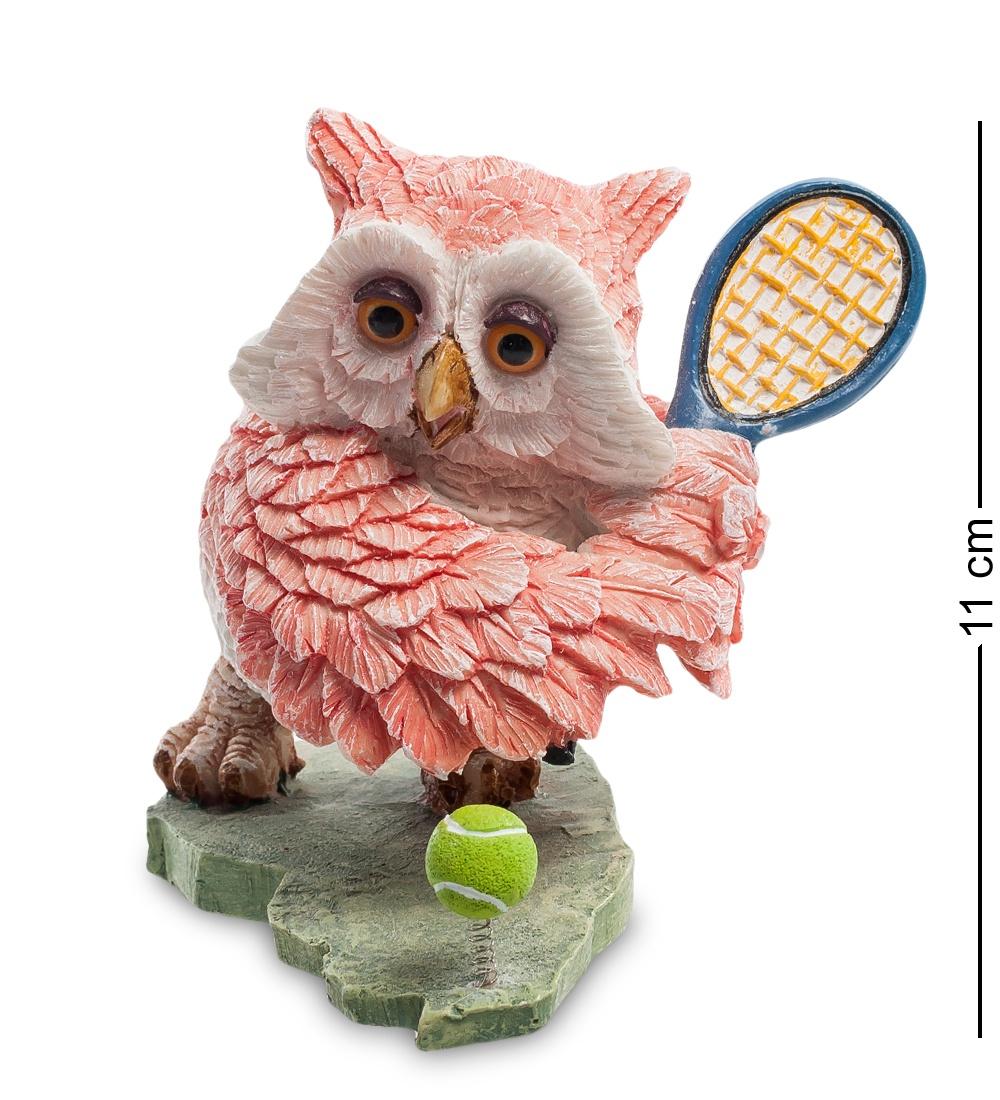 Фигура Sealmark Сова ''Теннисист'' 902842, разноцветный ol 6493 xeфигура сова сказка перед сном sealmark