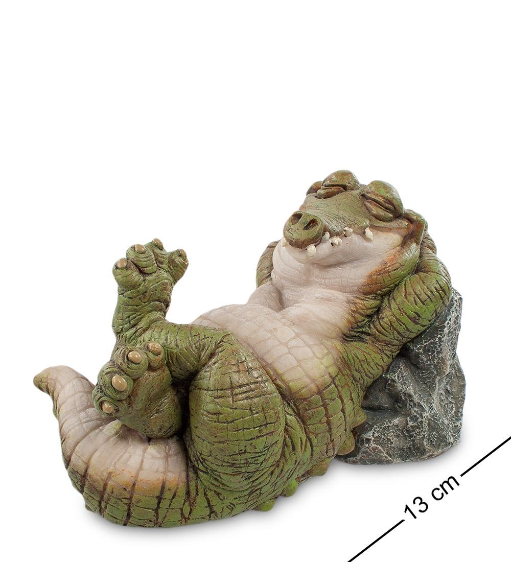 Фигура Sealmark Крокодил ''Релакс'' 90013, зеленый плитка декор 250х400х8 мм релакс зеленый 1 494311