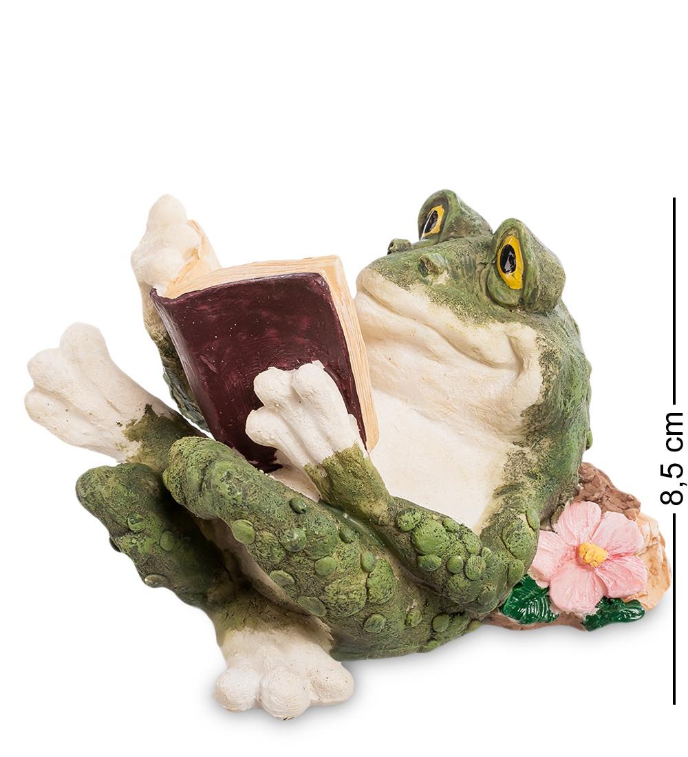 Фигура Sealmark Лягушка ''Увлекательное чтение'' 902856, зеленый