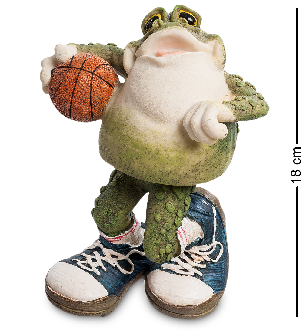 Фигурка декоративная Sealmark, FG-6324-XC 902868, Лягушка ''Баскетболист Фрогги'' (Sealmark) furon 3 0 pro fg whiteout