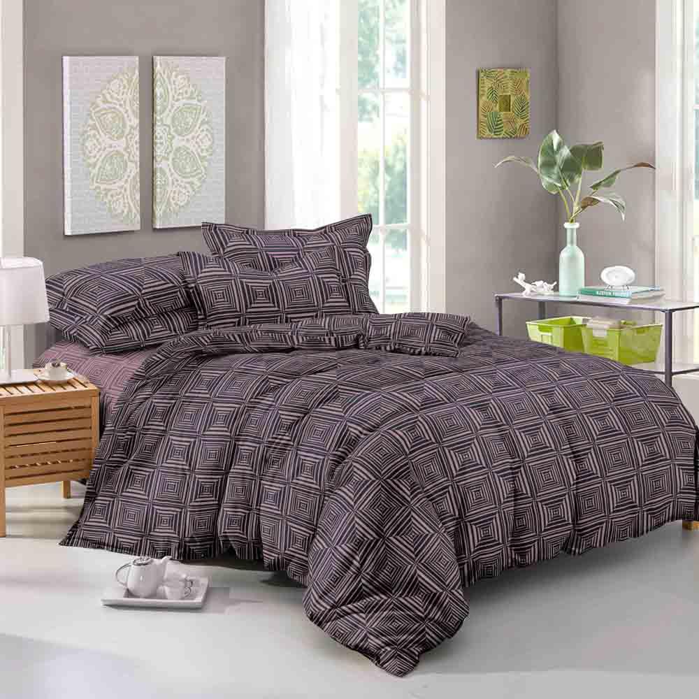 Комплект постельного белья Seta Grande Charvi, 019835212, коричневый, 2 спальный полуторный комплект белья mirarossi domenica 3009 1 1 5