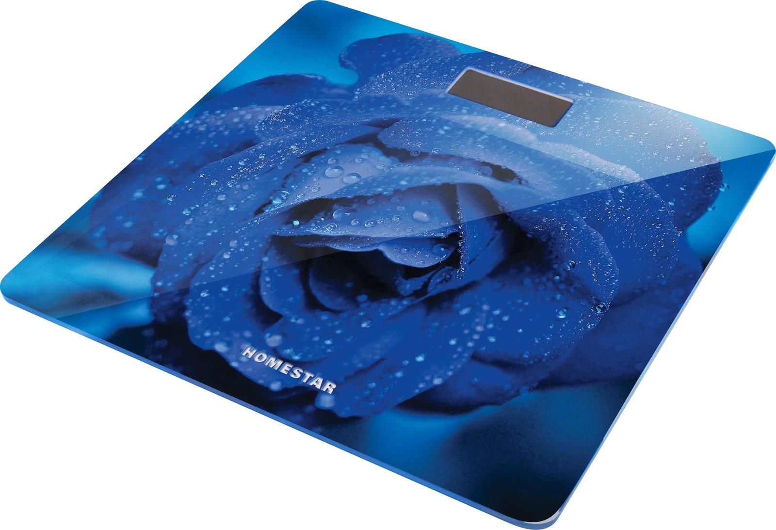 лучшая цена Весы напольные HomeStar HS-6002C, 54 003949, электронные, синий
