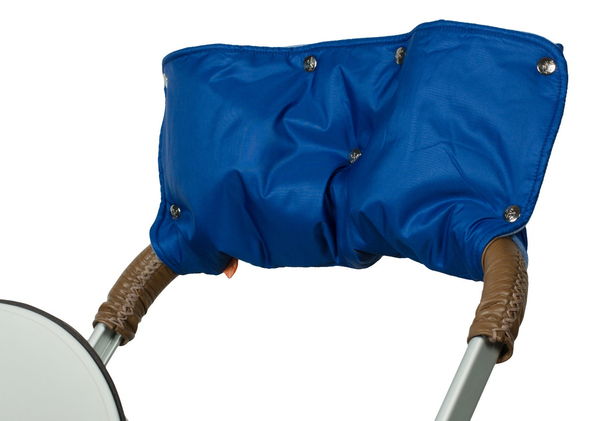 Муфта для рук на коляску Чудо-Чадо, МКФ06-000, синий аксессуары для колясок и автокресел виталфарм муфта для рук на коляску