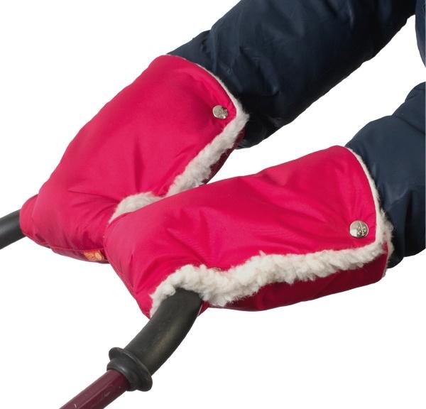 Муфты-рукавички Чудо-Чадо, МРМ11-000, вишневый муфта tigger warmhands на ручку коляски