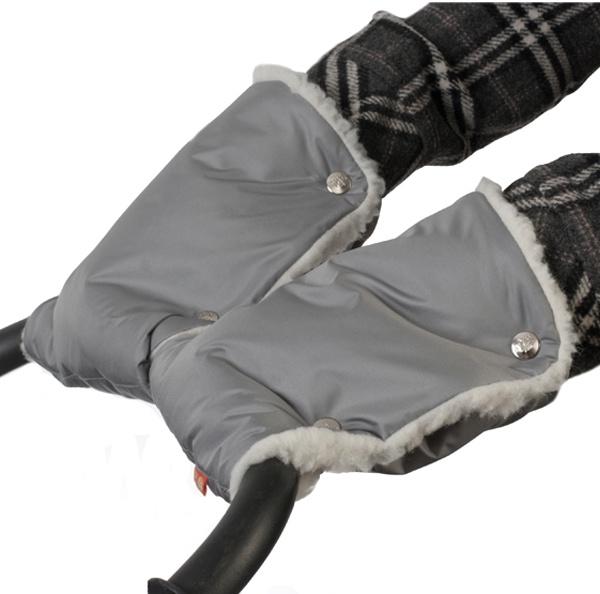Муфты-рукавички Чудо-Чадо, МРМ03-000, серый муфта tigger warmhands на ручку коляски