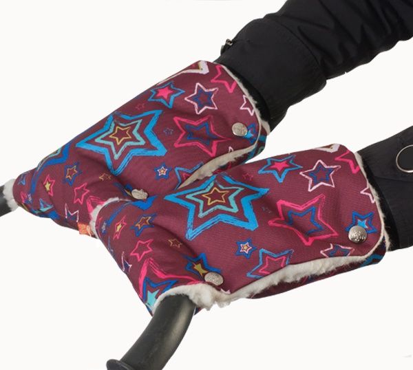 Муфты-рукавички Чудо-Чадо Звезды, МРМ14-000 муфта tigger warmhands на ручку коляски