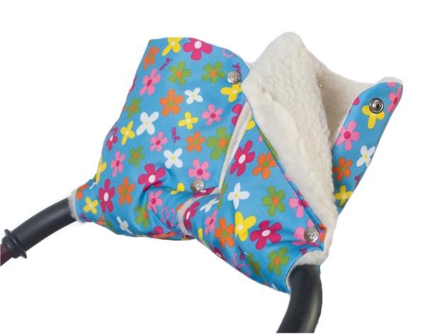 Муфты-рукавички Чудо-Чадо Цветочки, МРМ10-000 муфта tigger warmhands на ручку коляски