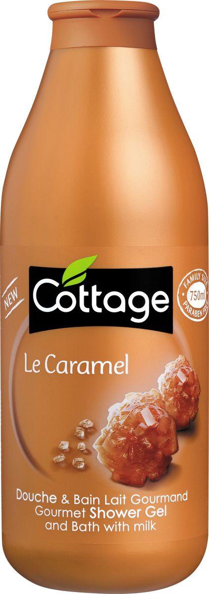Гель для душа и пена для ванн Cottage Сладкая Карамель, 750 мл гель для душа и пена для ванн cottage зеленый чай бодрящий 750 мл
