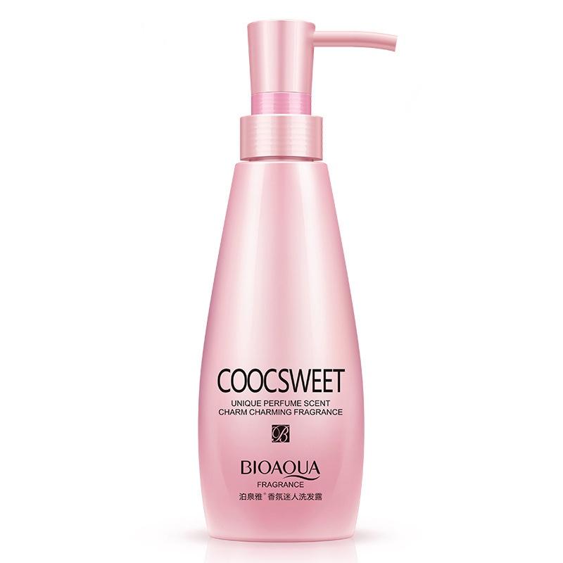 BIOAQUA Парфюмированный шампунь для поврежденных волос, 300 мл.780443Шампунь для поврежденных волос содержит в составе специально разработанный комплекс витаминов и полезных микроэлементов, которые восстанавливают поверхность волос и защищают их от вредных внешних воздействий: мороз, солнце, горячий воздух, укладочных средств. Кроме того, шампунь стимулирует рост здоровых волос и оставляет после мытья головы неповторимый аромат.