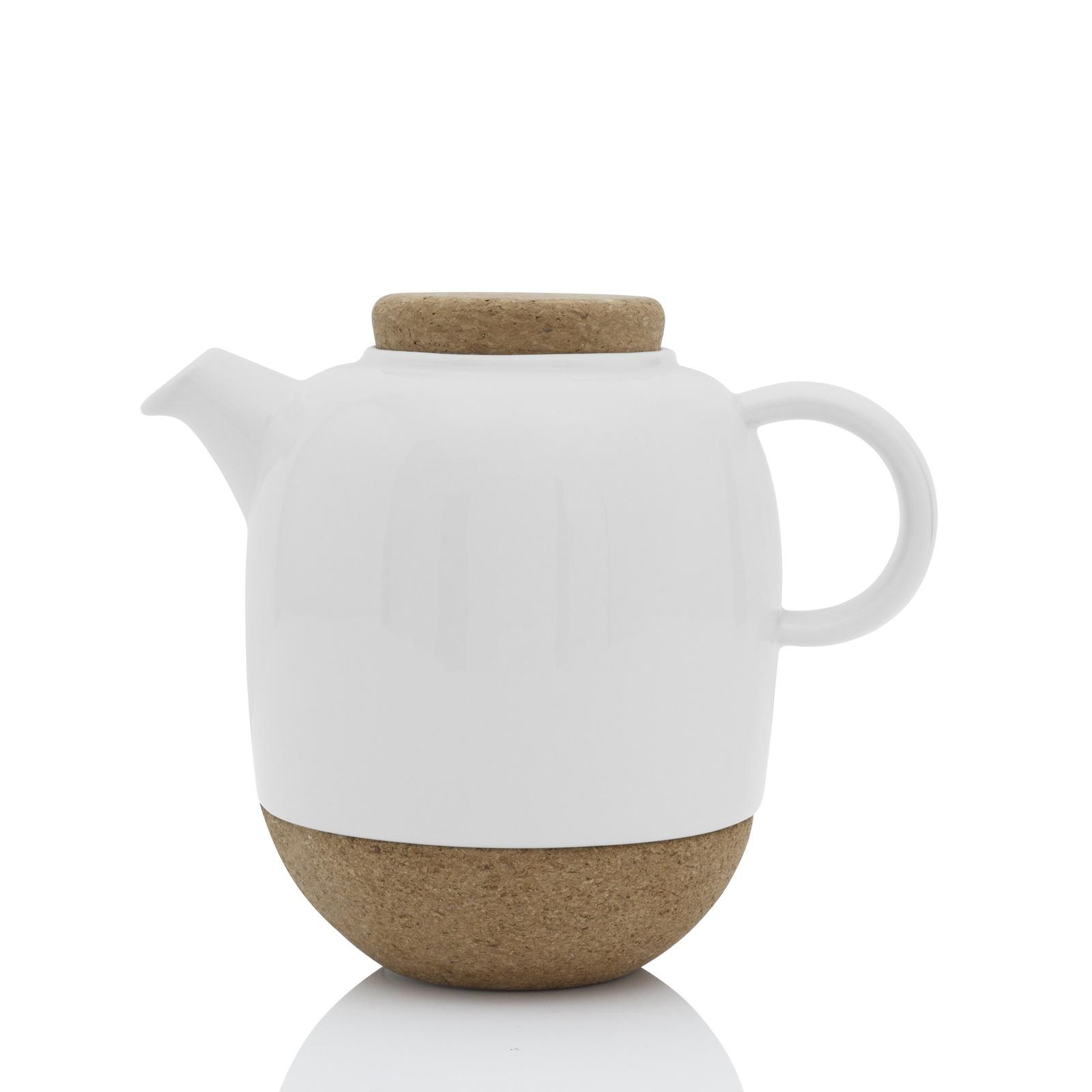 Чайник заварочный Viva scandinavia Lauren с ситечком, белый, 1,2 л