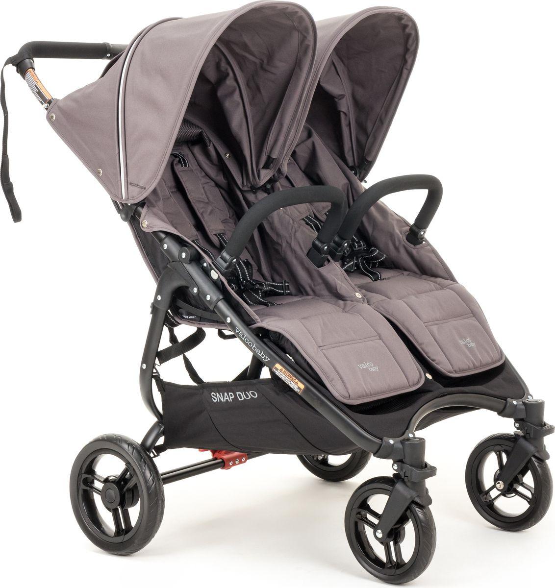 цены на Коляска для двойни Valco Baby Snap Duo Dove Grey  в интернет-магазинах