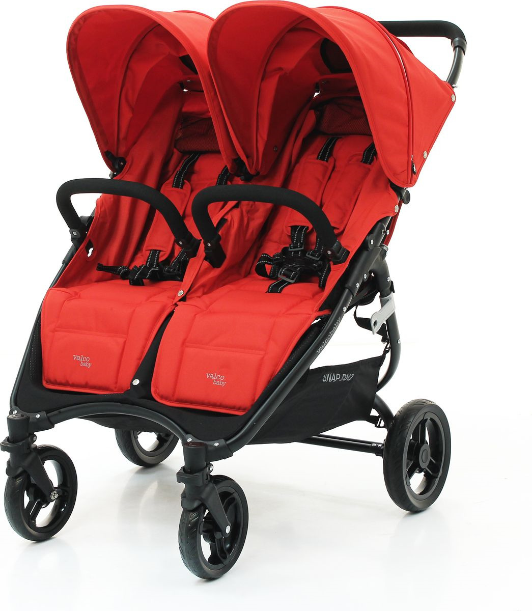 Коляска для двойни Valco Baby Snap Duo Fire red