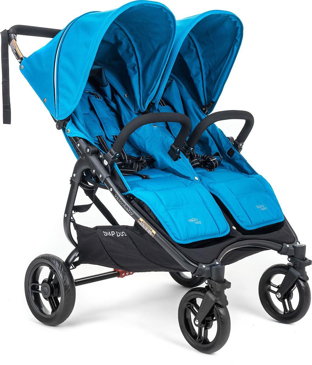 цены на Коляска для двойни Valco Baby Snap Duo Ocean Blue  в интернет-магазинах