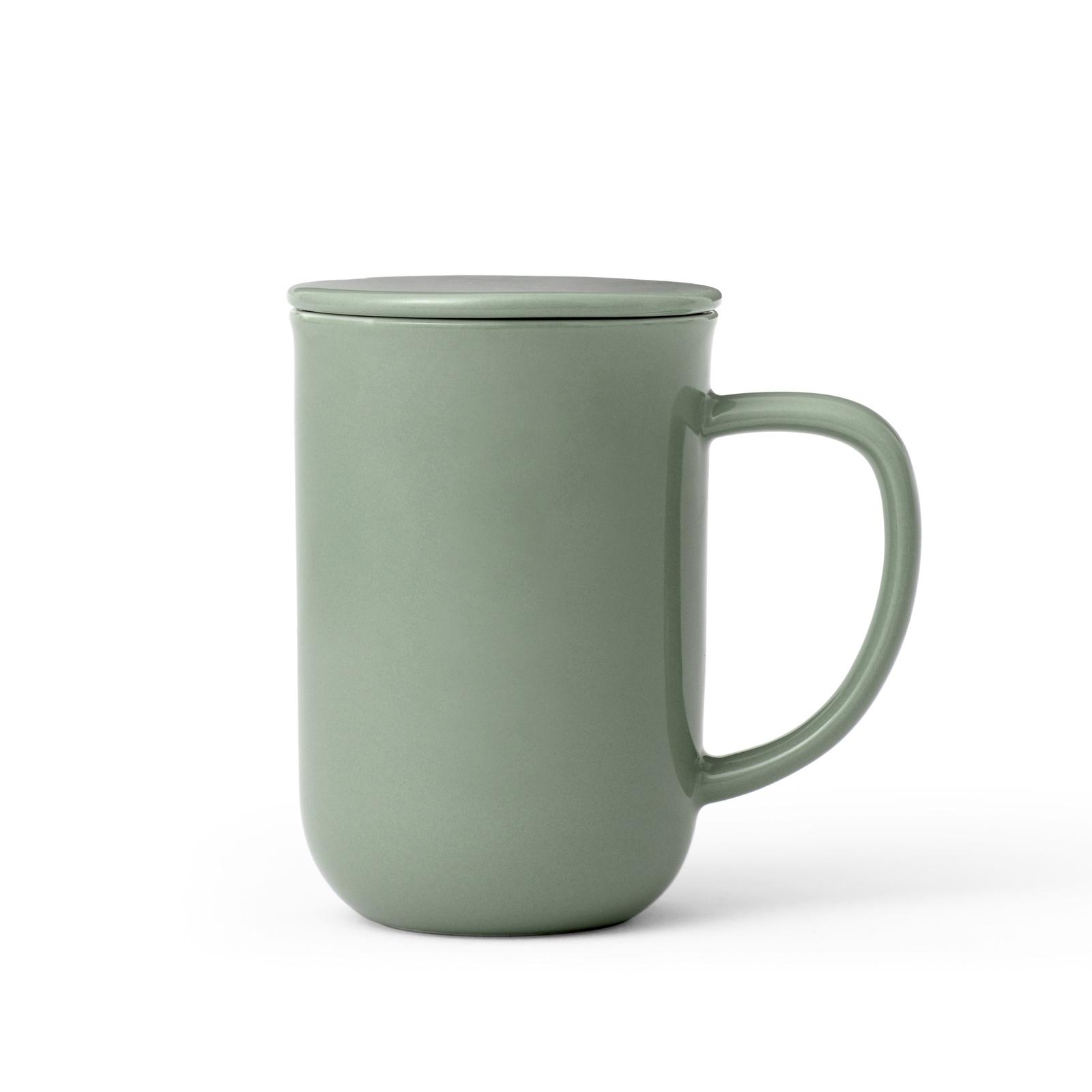 Чайная кружка с ситечком Viva scandinavia Minima,V77546, 500 мл, зеленый