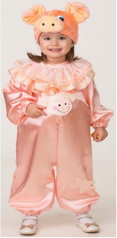Карнавальный костюм Батик Поросёнок Ниф, цвет: розовый. Размер: 26 карнавальный костюм jeanees зайка капризка цвет голубой размер 24
