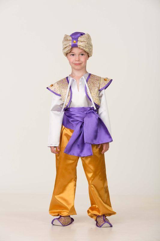 Карнавальный костюм Батик Аладдин 5, цвет: желтый. Размер: 34 карнавальный костюм jeanees зайка капризка цвет голубой размер 24