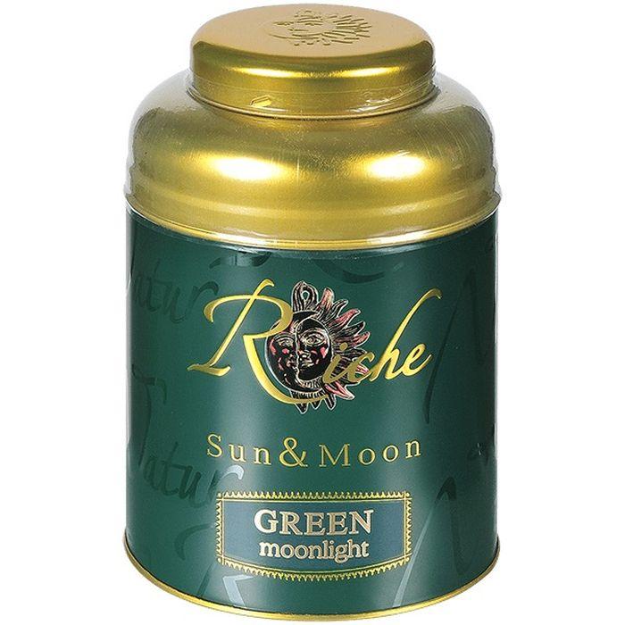 Чай Riche Natur Moonlight зеленый, банка, 400 г0396_3033Зелёный китайский чай Riche` Natur GREEN Moonlight выращивают и собирают вручную на высокогорных плантациях. Это премиальный китайский чай, содержащий большой количество молодых почек чайного куста, придающих напитку лёгкий нежный аромат и свежий насыщенный вкус. Высокогорный китайский зеленый чай собранный вручную. Этот чай собирают самым первым когда молодые побеги только-только созрели на плантациях Китая. В его составе только самые первые молодые чайные листья - типсы, чайные почки. Нежный вкус типсов и свежий аромат порадует Вас в процессе чаепития.