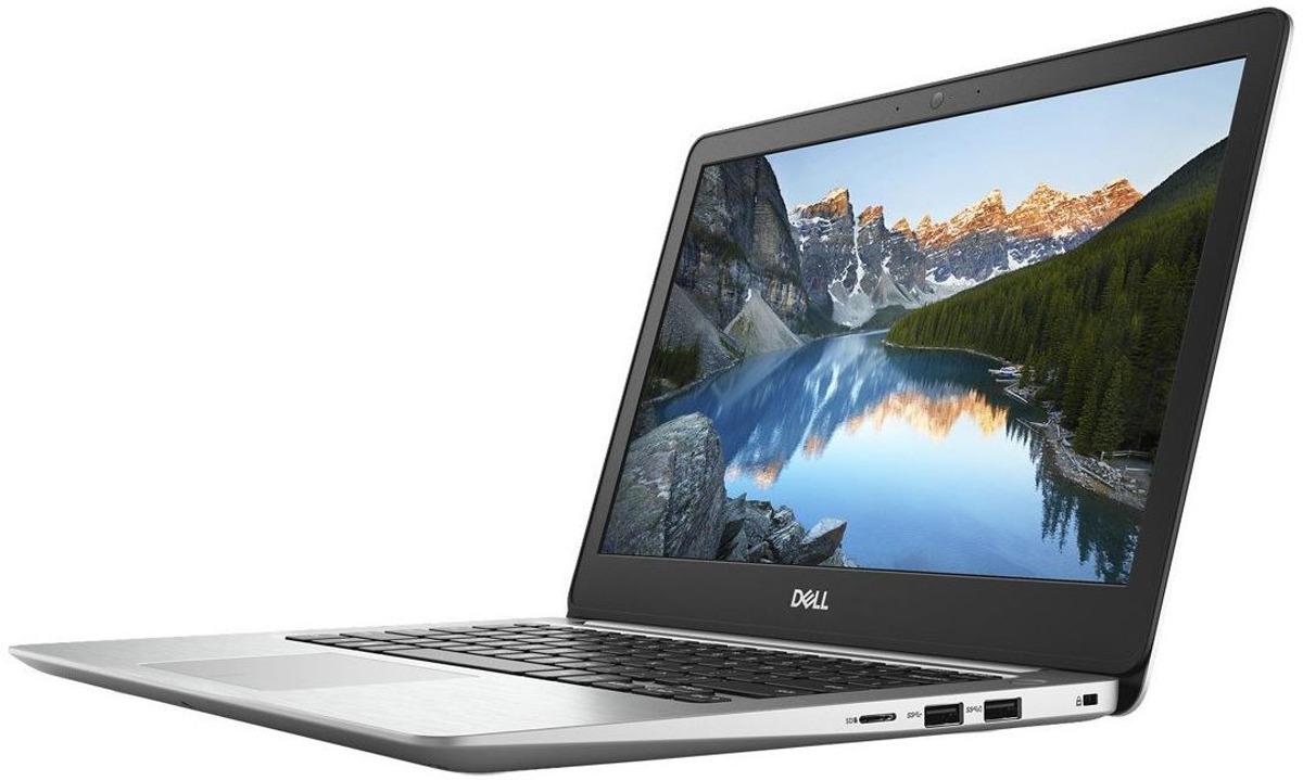 13.3 Ноутбук Dell Inspiron 5370 5370-7291, серебристый ноутбук dell vostro 5370 core i5 8250u 4gb 256gb ssd 13 3 fullhd linux grey