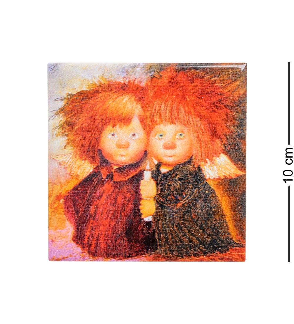 Магнит Artangels ''Ангелы домашнего очага'' 501429, 10 х 10 см