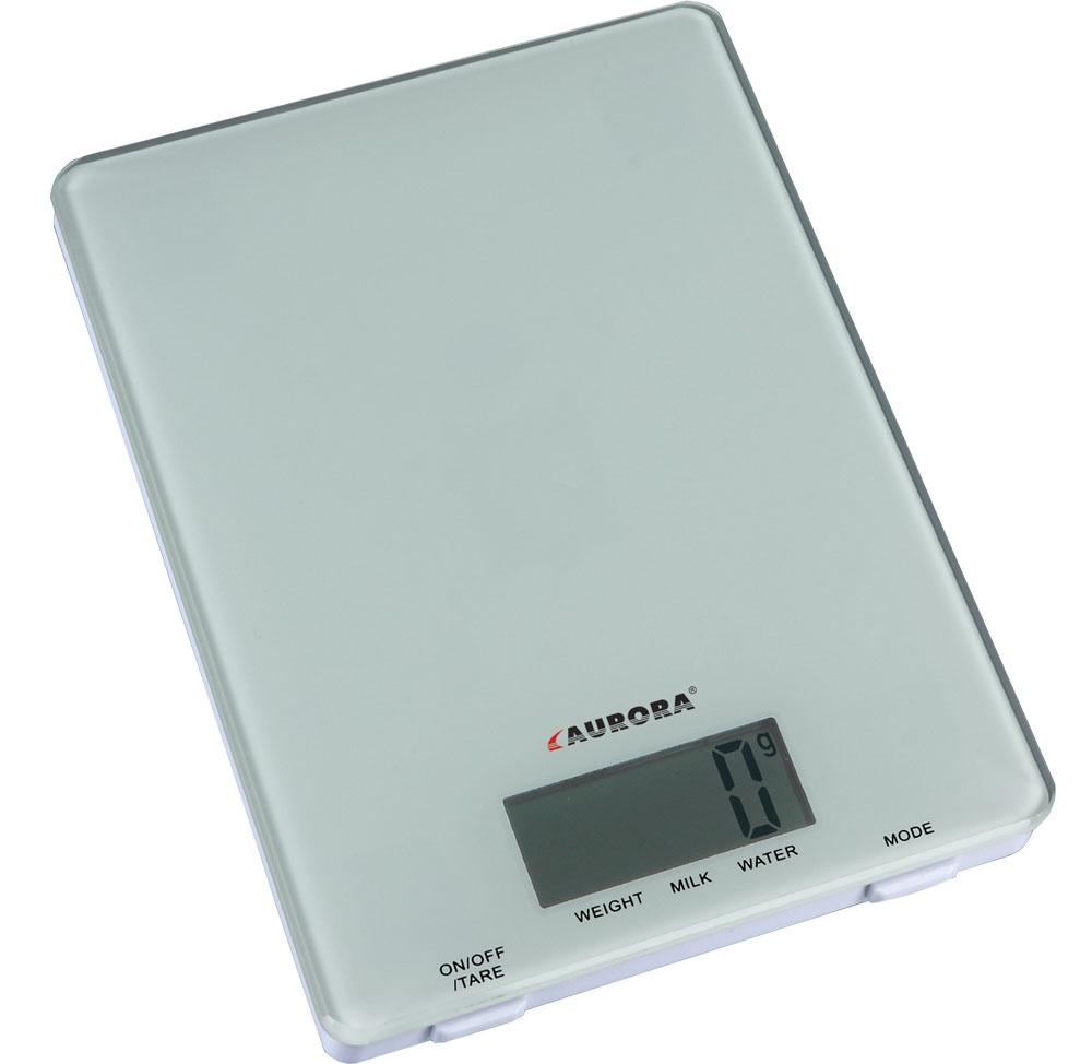 Кухонные весы AURORA Весы кухонные электронные AU4300, белый