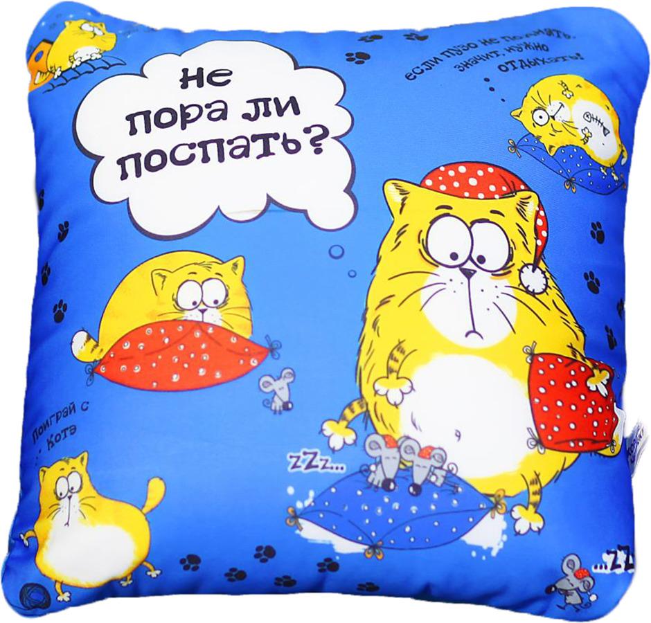 """Игрушка-подушка антистресс КОТЭ """"Не пора ли поспать?"""", 514299"""