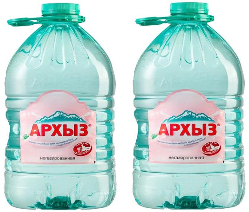 Вода Архыз Vita, минеральная, негазированная, 2 шт х 5 л volvic вода минеральная негазированная 0 5 л
