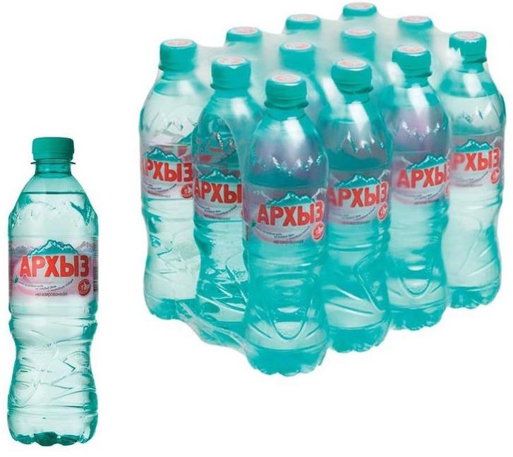 Вода Архыз Vita, минеральная, негазированная, 12 шт х 500 мл