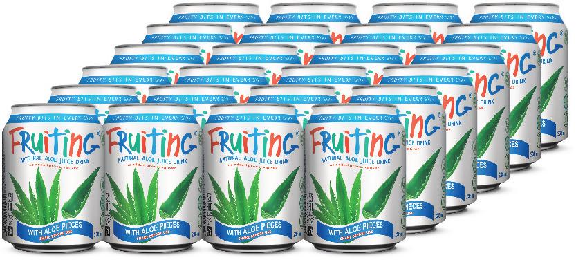 Напиток сокосодержащий Fruiting Алоэ, 24 шт х 238 мл